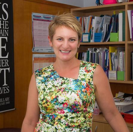 Sandra Portegys Deputy Principal Maungatapu School
